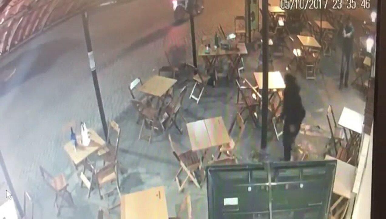 Video mostra a ação do delegado