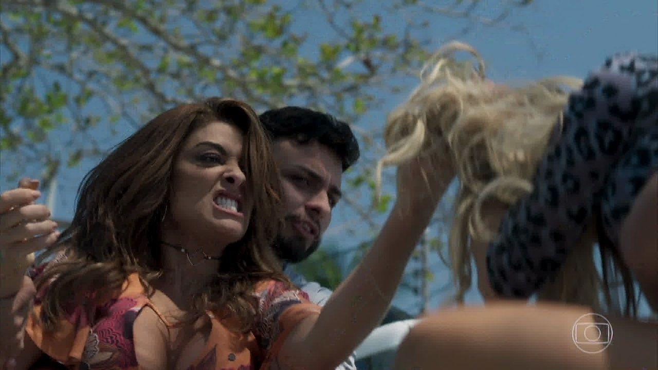 Bibi agride Carine e confronta Rubinho em 'A Força do Querer'