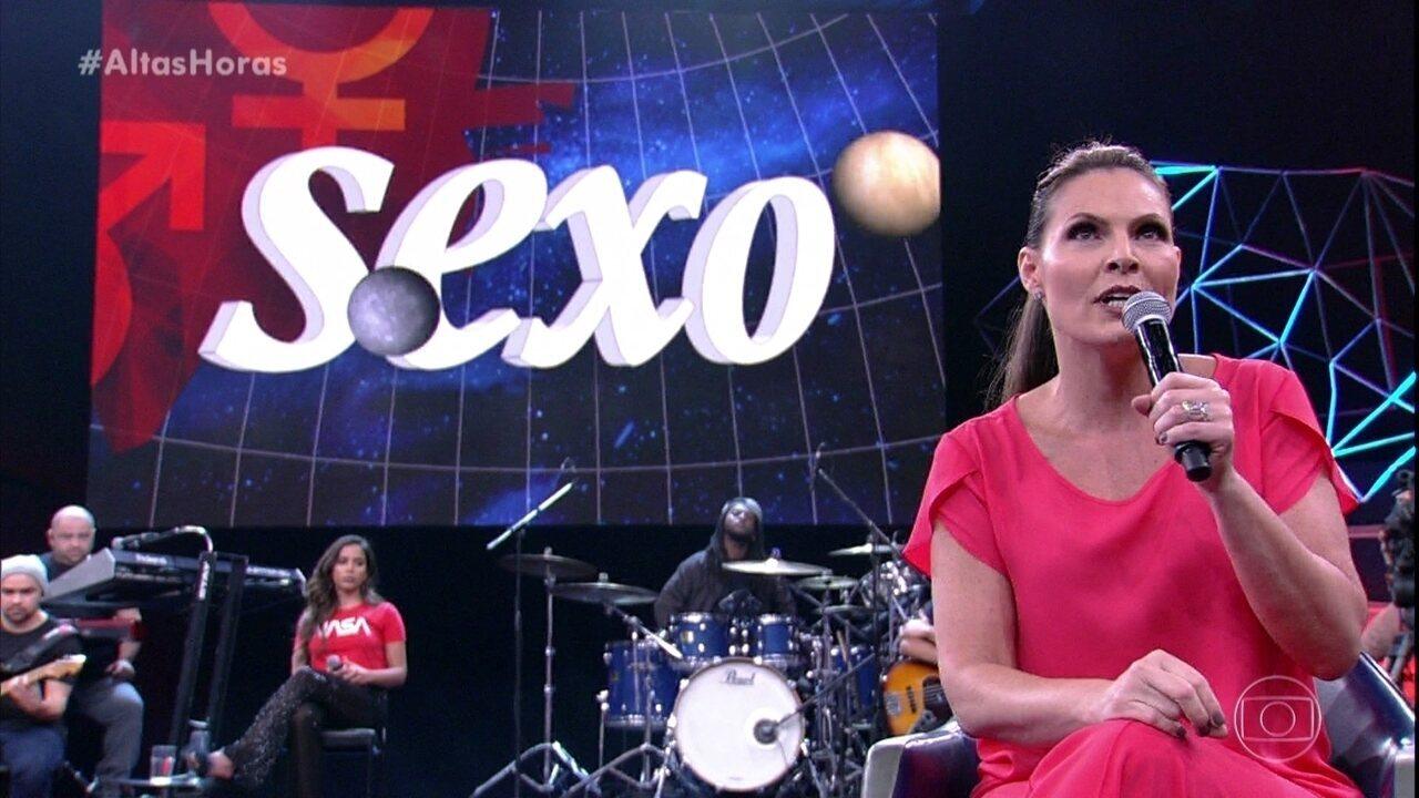 Convidados e plateia participam do Sexo Com Laura Muller