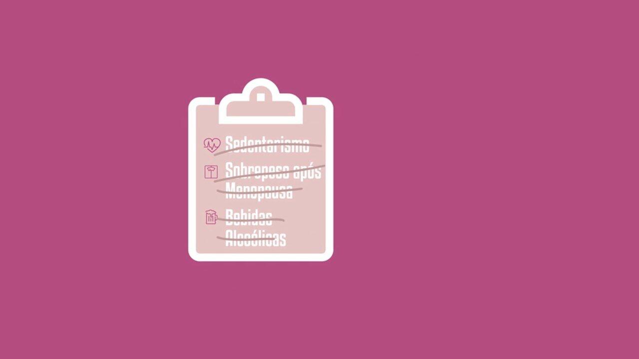 Previna-se: boa alimentação e exercícios físicos afastam o câncer de mama