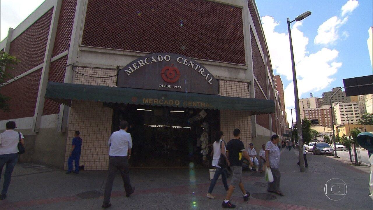 Mercado Central de Belo Horizonte mexe com os cinco sentidos do visitante