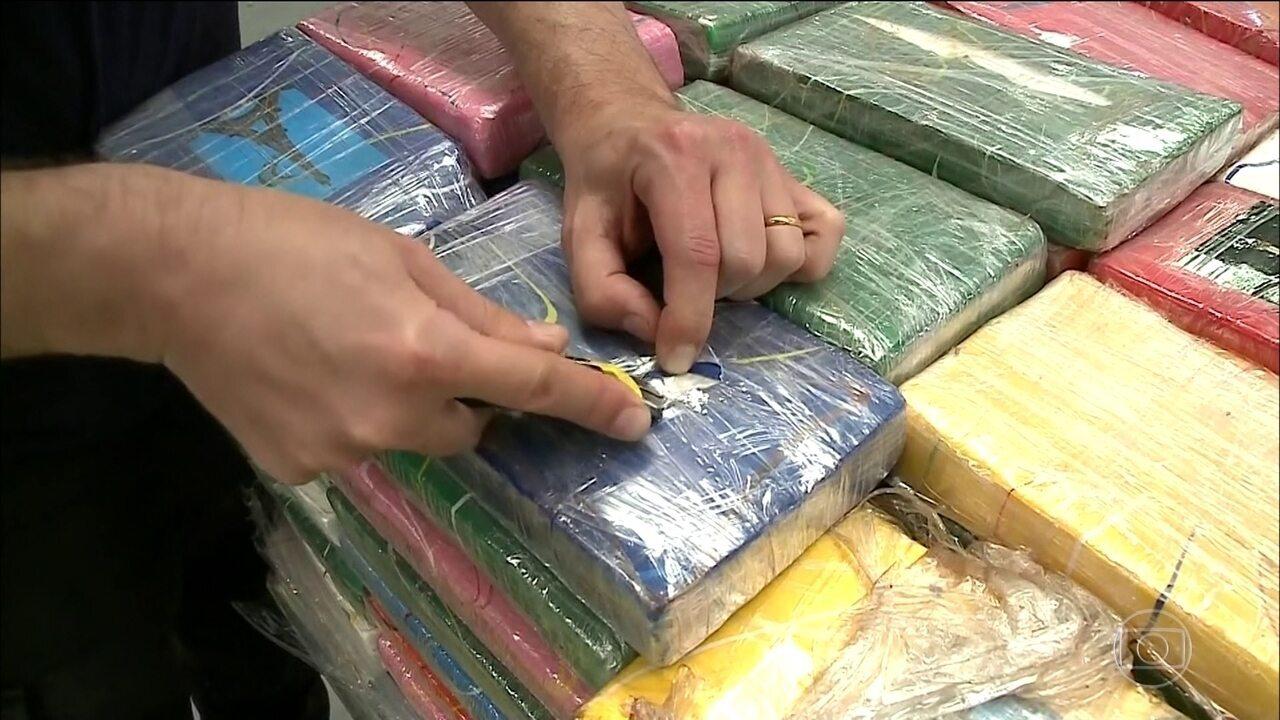 Operação da PF prende 56 pessoas de seis estados por tráfico internacional de drogas