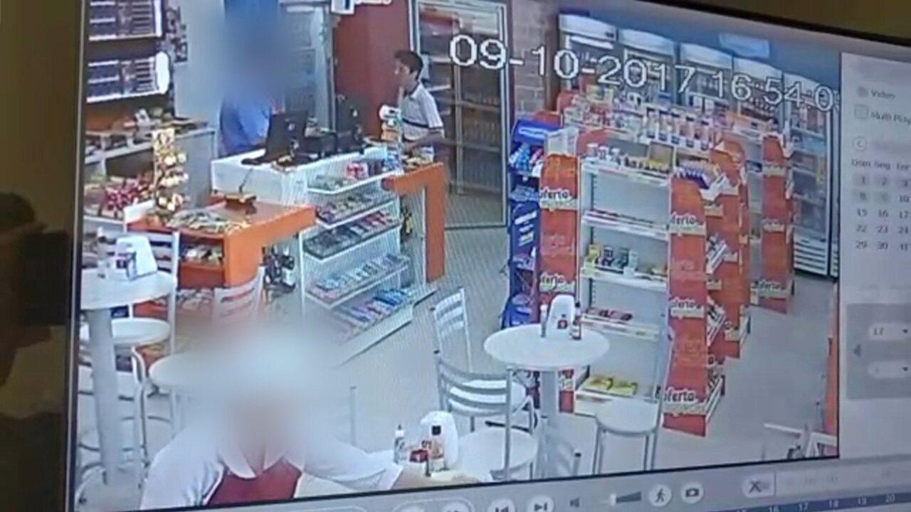 Polícia prende suspeito de assaltar posto de combustíveis em Jaú
