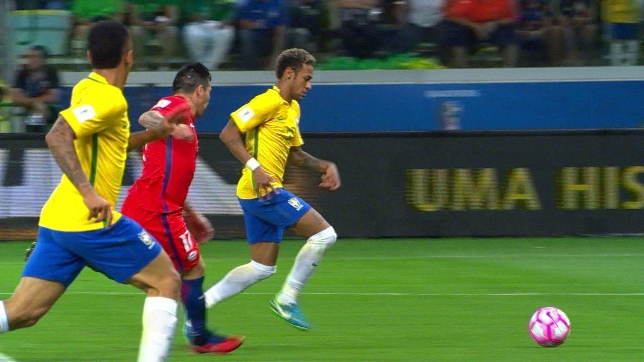 Melhores momentos de Brasil 3 x 0 Chile pelas Eliminatórias da Copa do Mundo  2018 f9011ffc78988