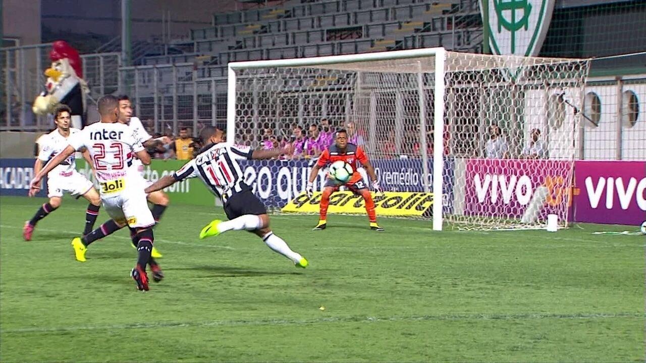 Sport e Atlético-MG empatam na Ilha do Retiro