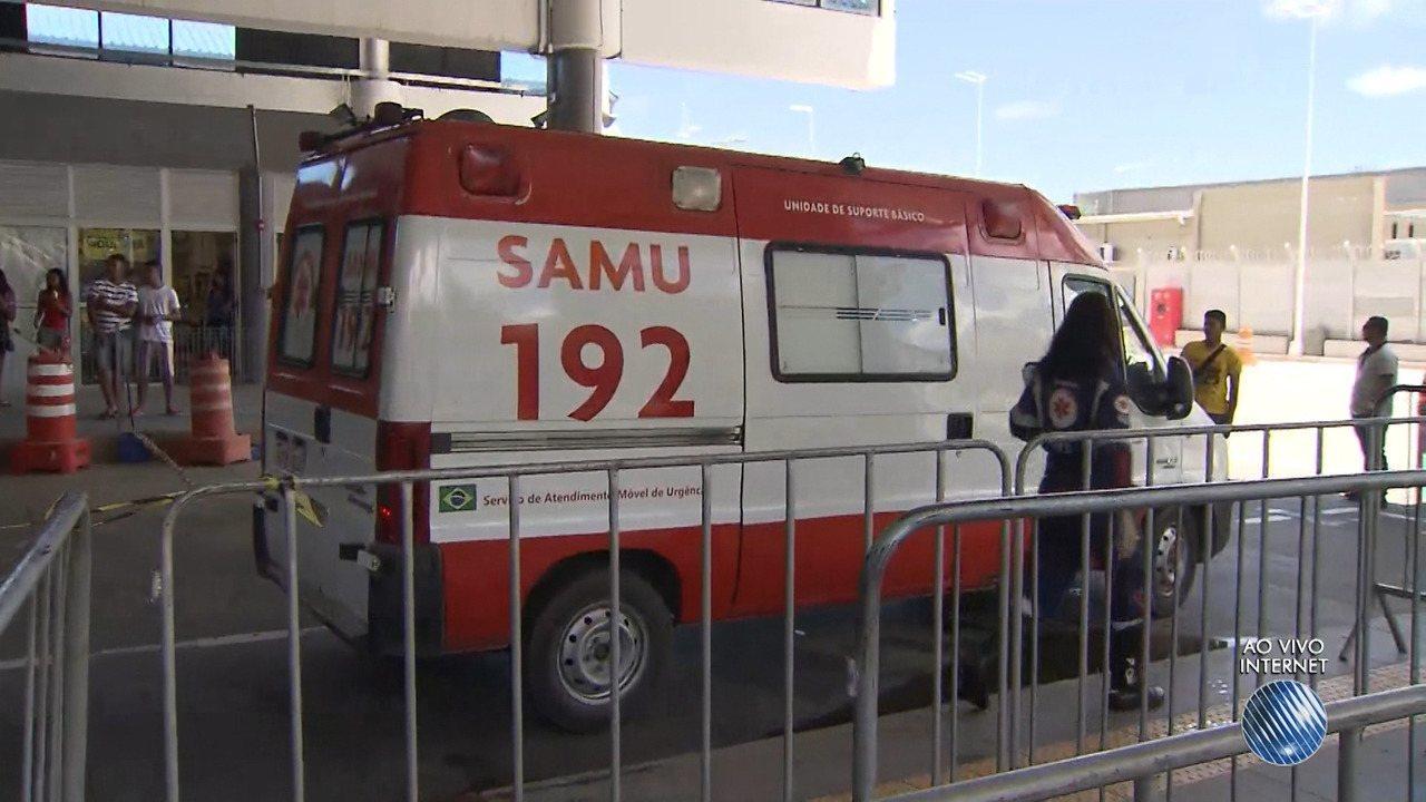 Homem esfaqueia 3 pessoas na Estação Mussurunga; agressor e uma vítima morrem