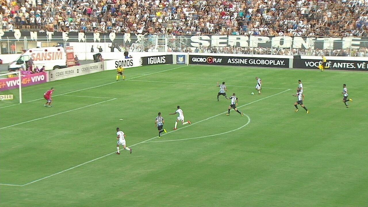Melhores momentos de Ponte Preta 1 x 1 Santos pela 27ª rodada do Brasileirão 2017