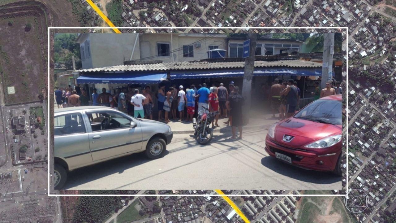 Tiroteio deixa 3 mortos, em bar de Duque de Caxias