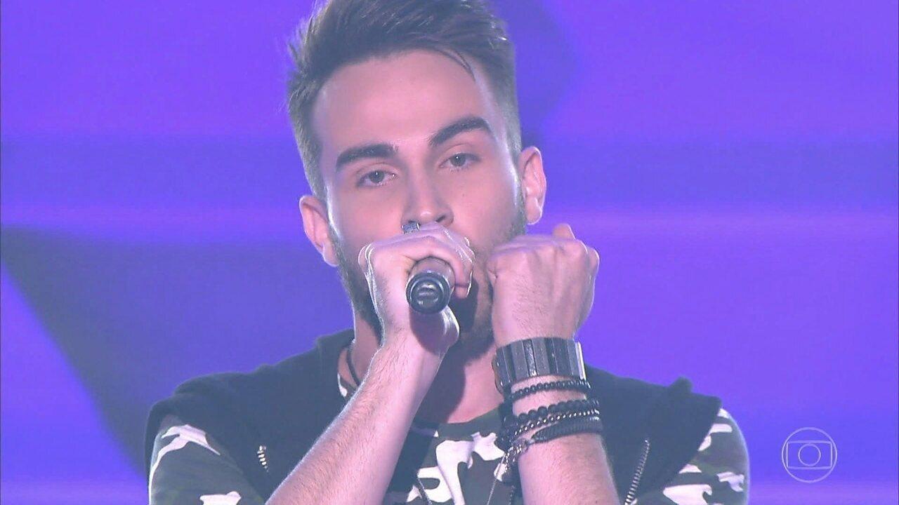Cesar Damasceno canta 'Você Partiu Meu Coração'