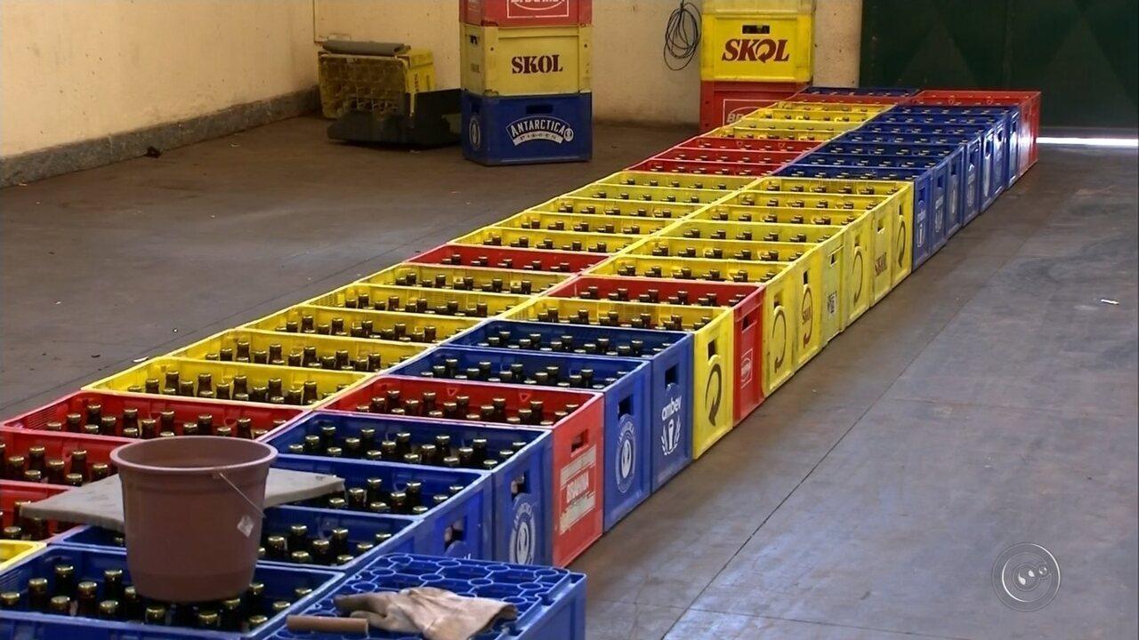 Polícia de Ourinhos prende falsificadores de cerveja