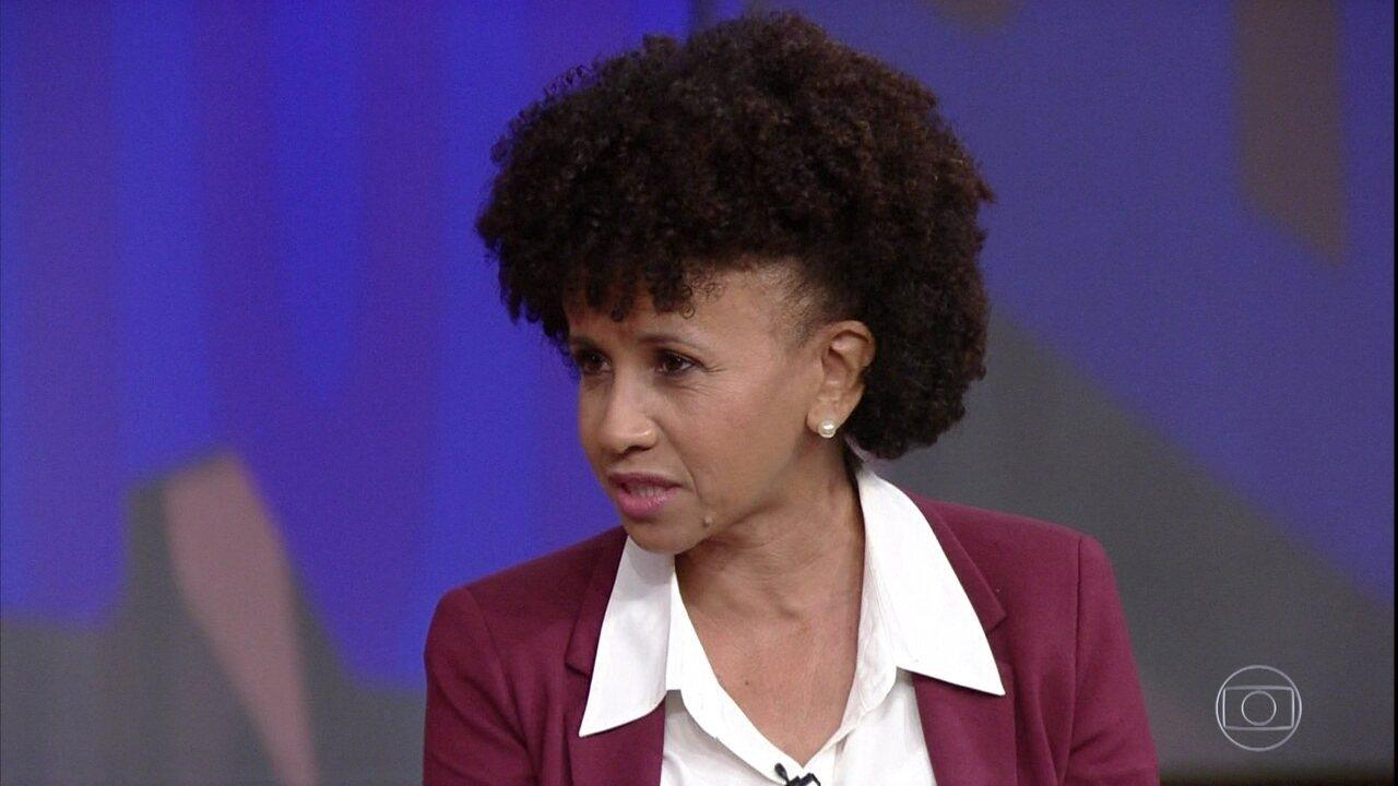 Gina Vieira Ponte explica que teve uma aprendizagem difícil na escola