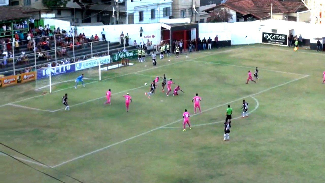 Os gols de Atlético-ES 1 x 1 Espírito Santo, pela Copa ES 2017