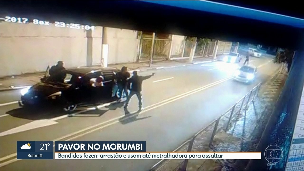 Bandidos fazem dois arrastões no Morumbi em uma semana