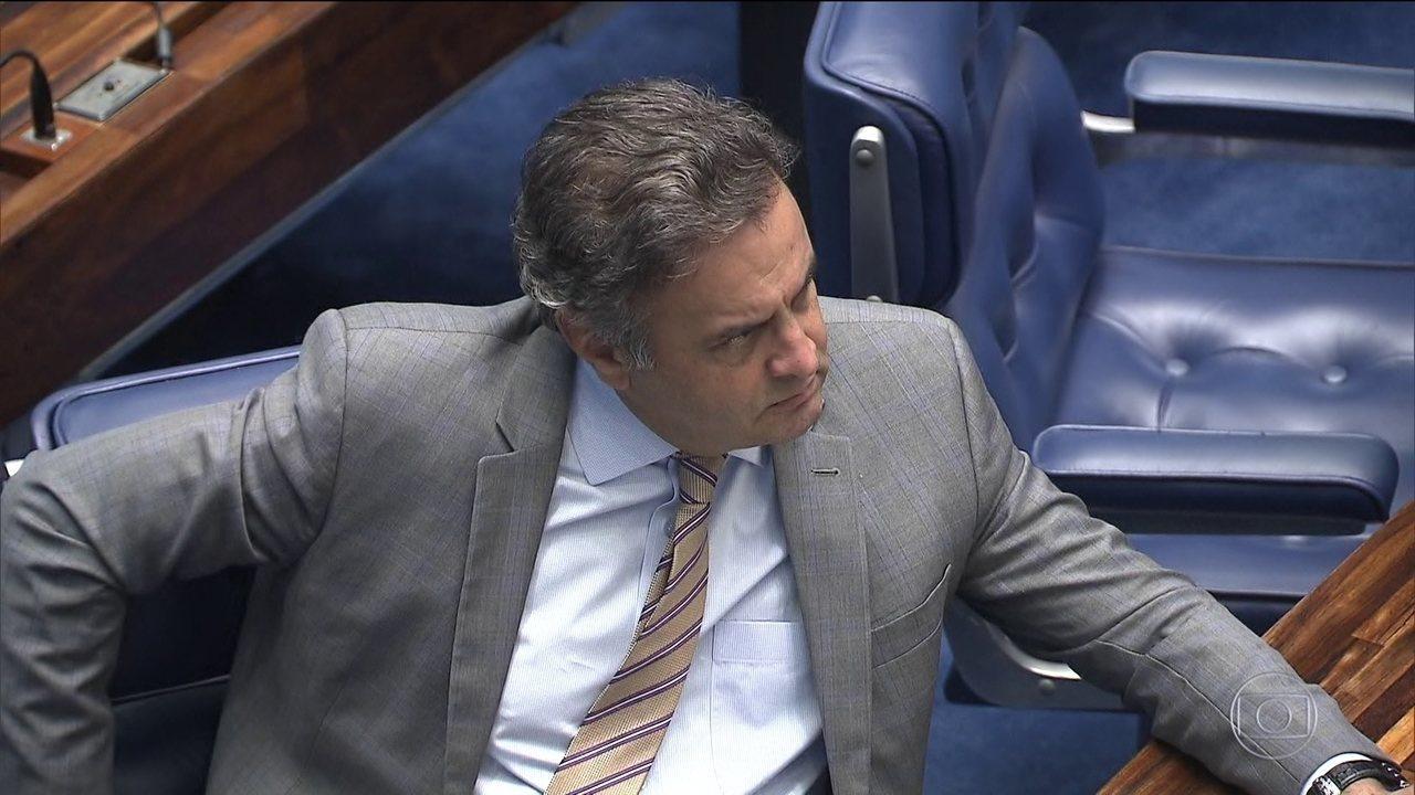 Votação no Senado das medidas contra Aécio corre risco de ser adiada