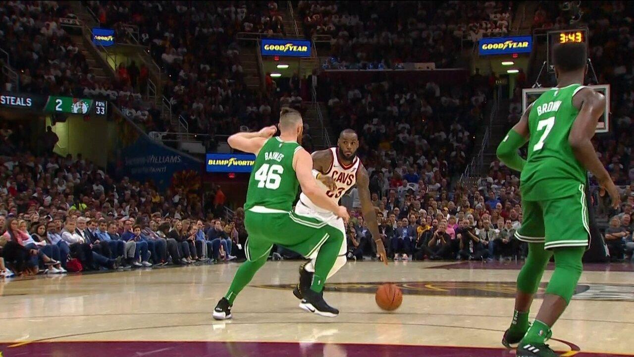 Melhores momentos: Boston Celtics 99 x 102 Cleveland Cavaliers pela NBA