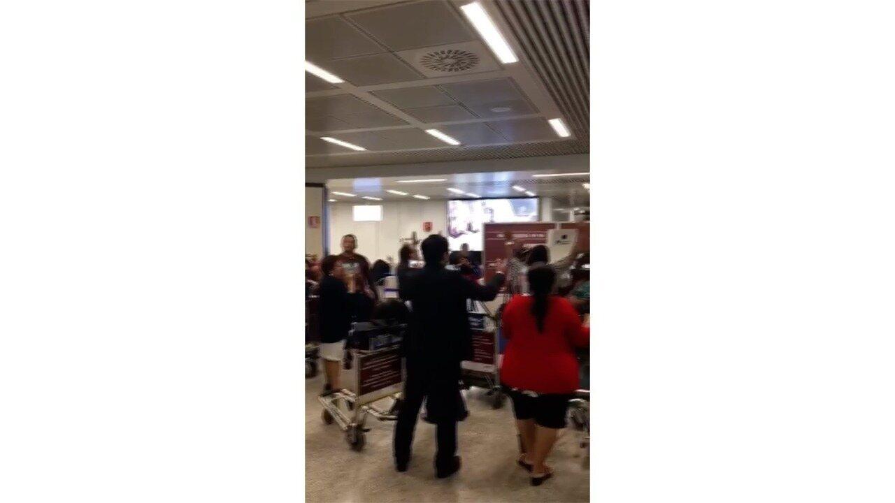 Padre potiguar relata pânico depois de turbina de avião pegar fogo em voo de Roma para Lisboa