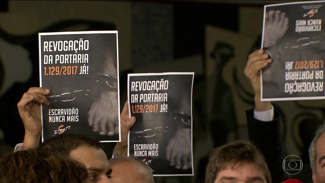 OIT faz alerta ao Brasil sobre mudança no combate ao trabalho escravo