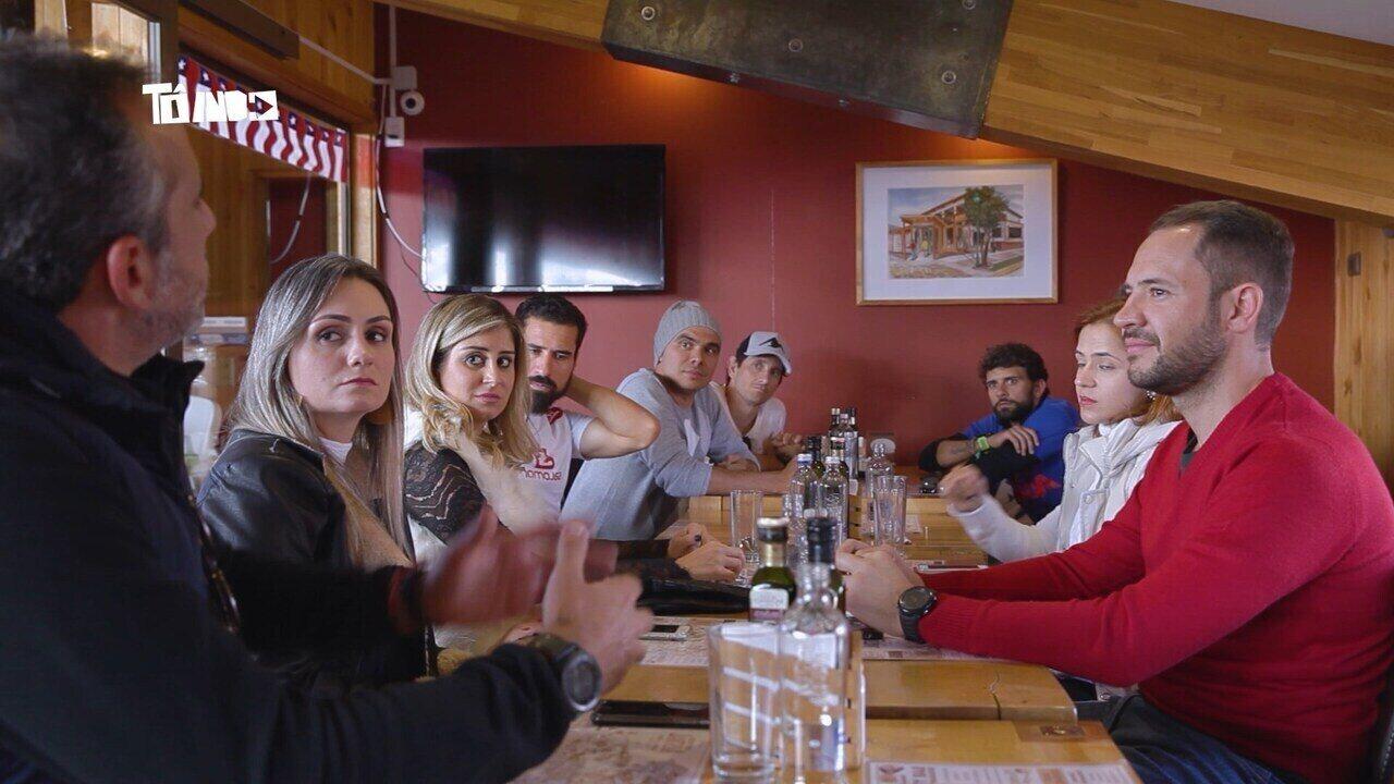 Reveja: Mário bate-papo com participantes da '4ª edição do Ultra Trail Torres Del Paine'