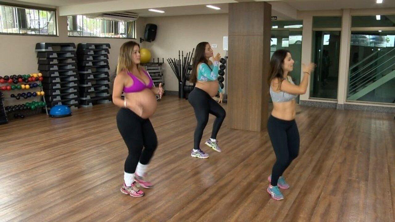Em Movimento: Grávidas aderem a dança para manter a forma