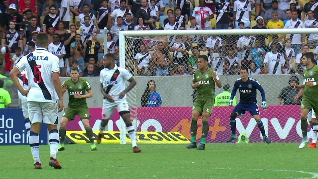 Resultado de imagem para Vasco frustra torcida e empata com Coritiba no Maracanã