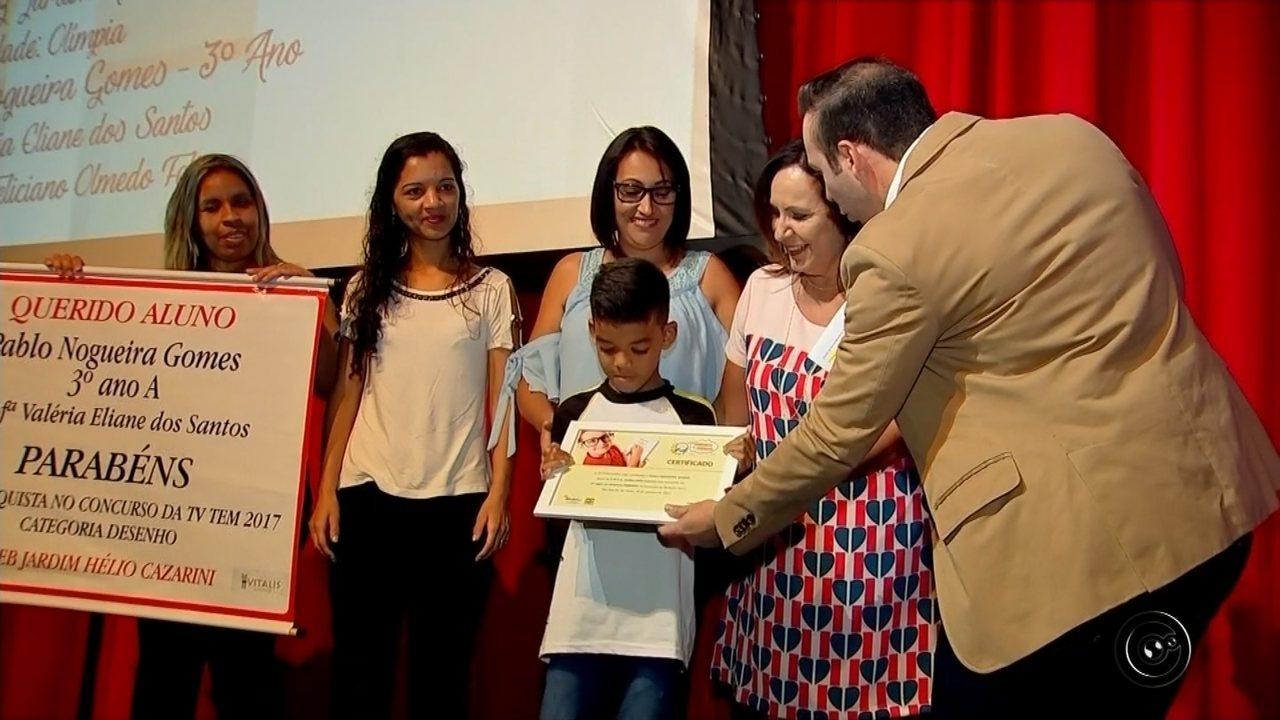 Concurso de redação de 2017 premia estudantes na região de Rio Preto