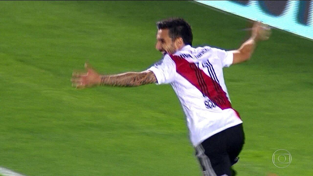 River Plate vence o Lanús em casa pela Libertadores