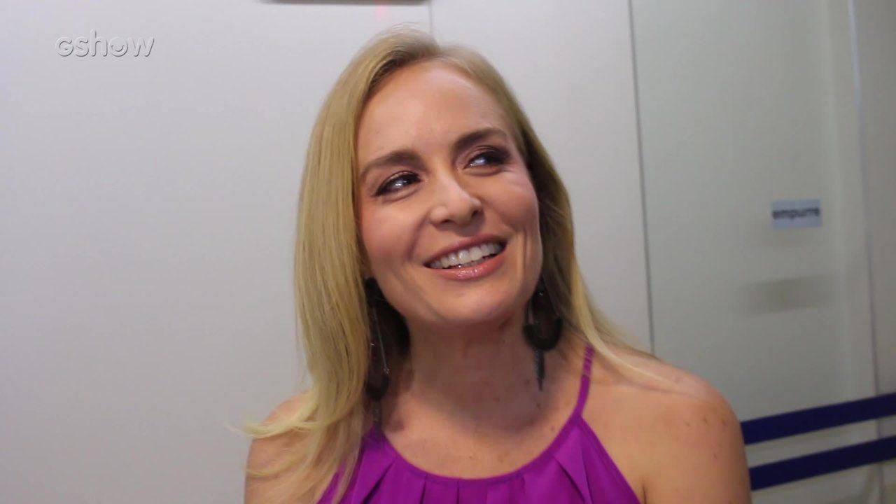 Angélica relembra o quadro Vídeo Game