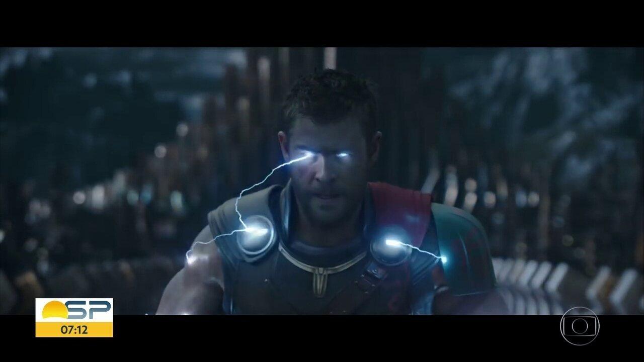 Thor: Ragnarok supera todas as expectativas em sua estréia