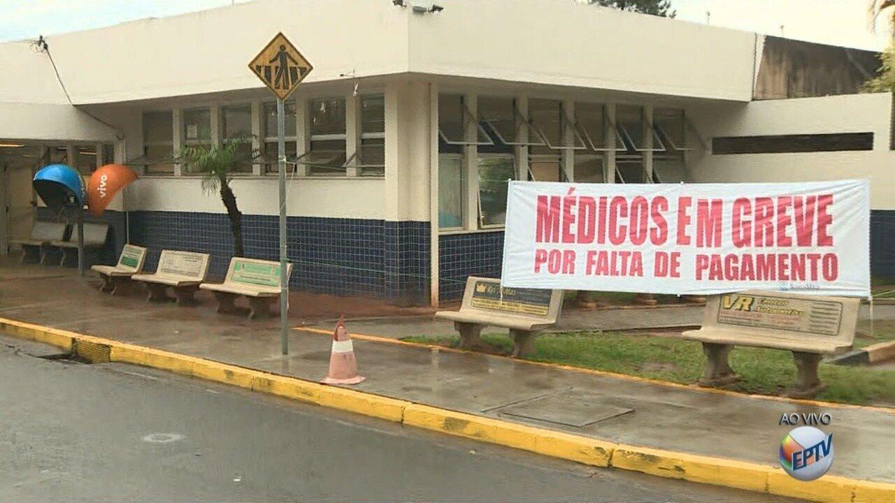 Greve dos médicos do Hospital Ouro Verde, em Campinas, chega ao 4º dia sem acordo