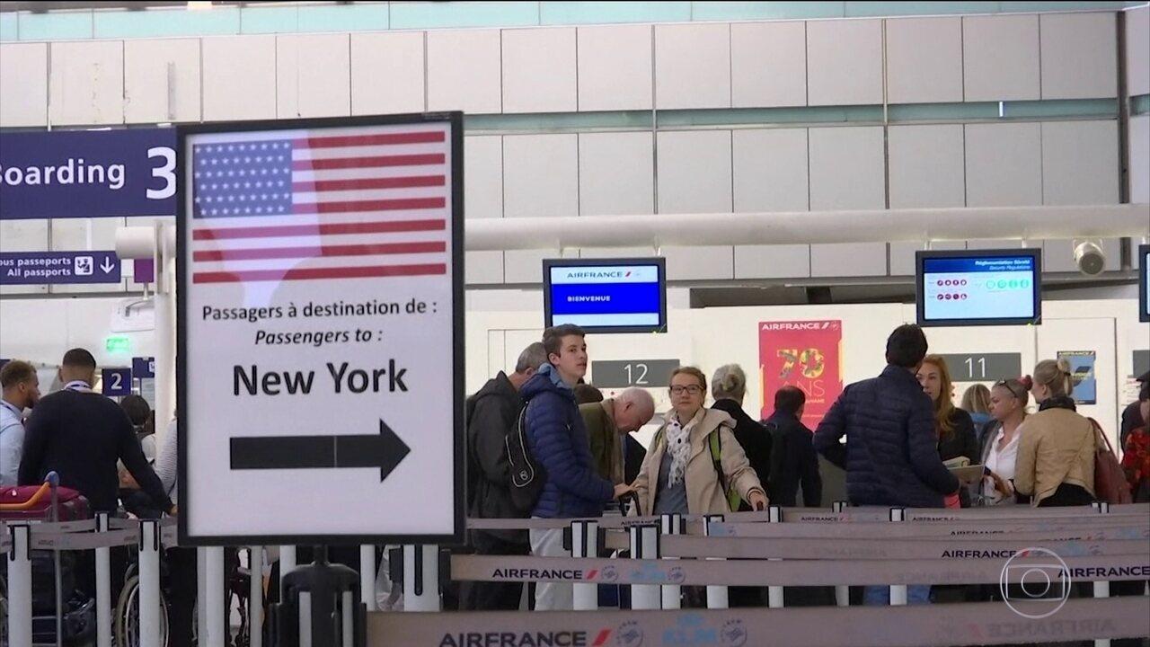 Companhias aéreas que viajam aos EUA devem seguir regras de segurança mais rigorosas