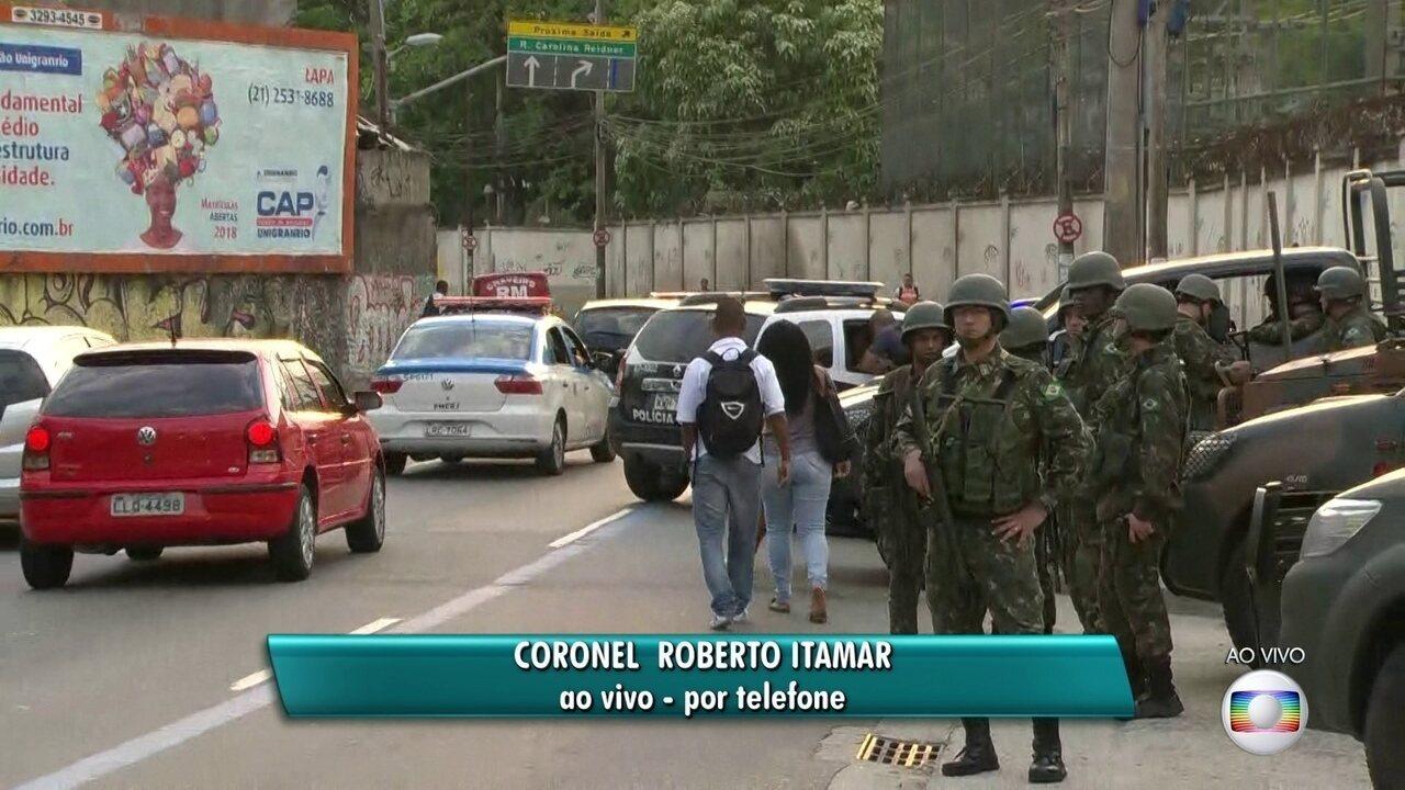 Acessos às comunidades no Centro do Rio estão cercados