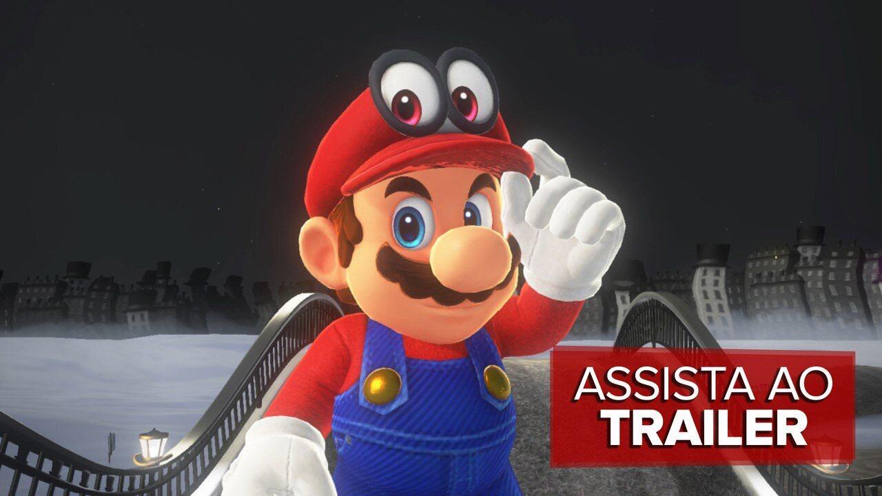 Veja o trailer de lançamento de 'Super Mario Odyssey'