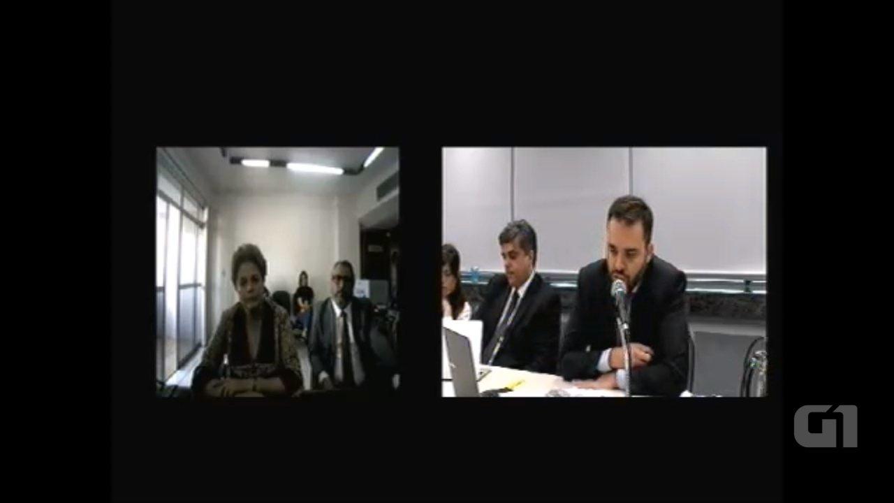 Dilma depõe a Sérgio Moro por videoconferência; ex-presidente veio a BH