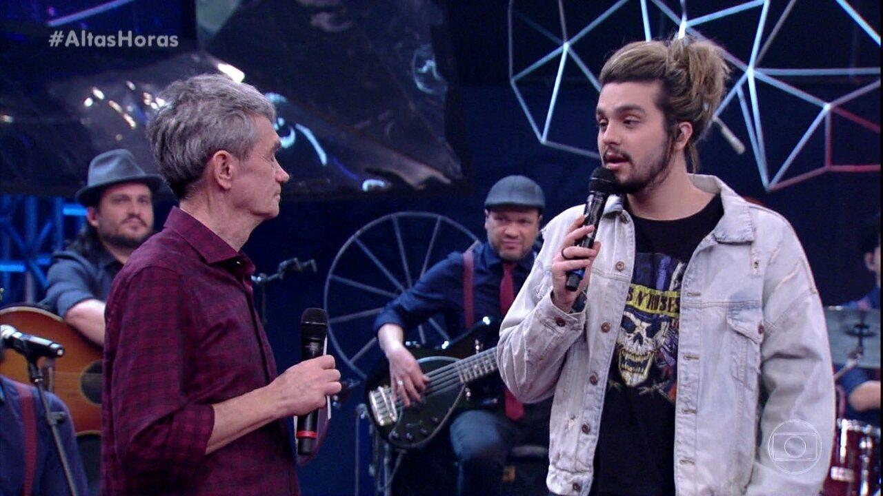 Luan Santana comenta sucesso de Pabllo Vittar