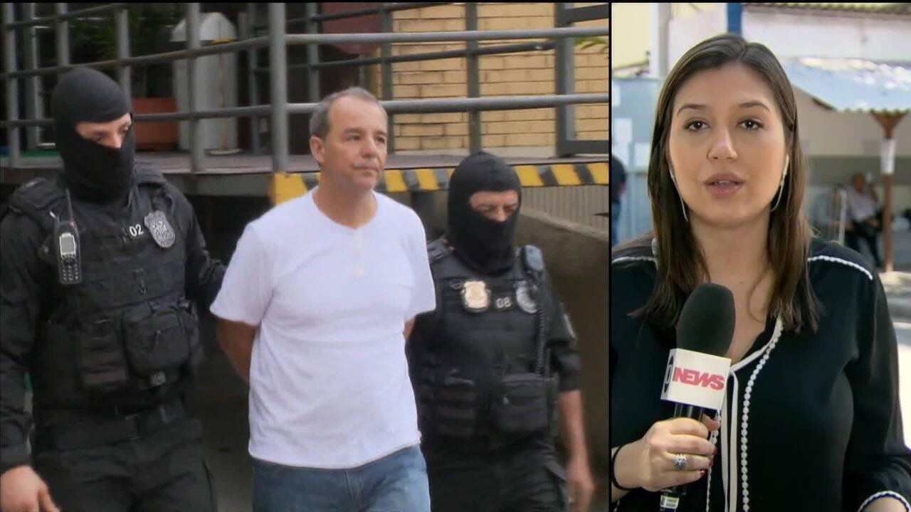 Defesa de Cabral ainda tenta reverter transferência de presídio