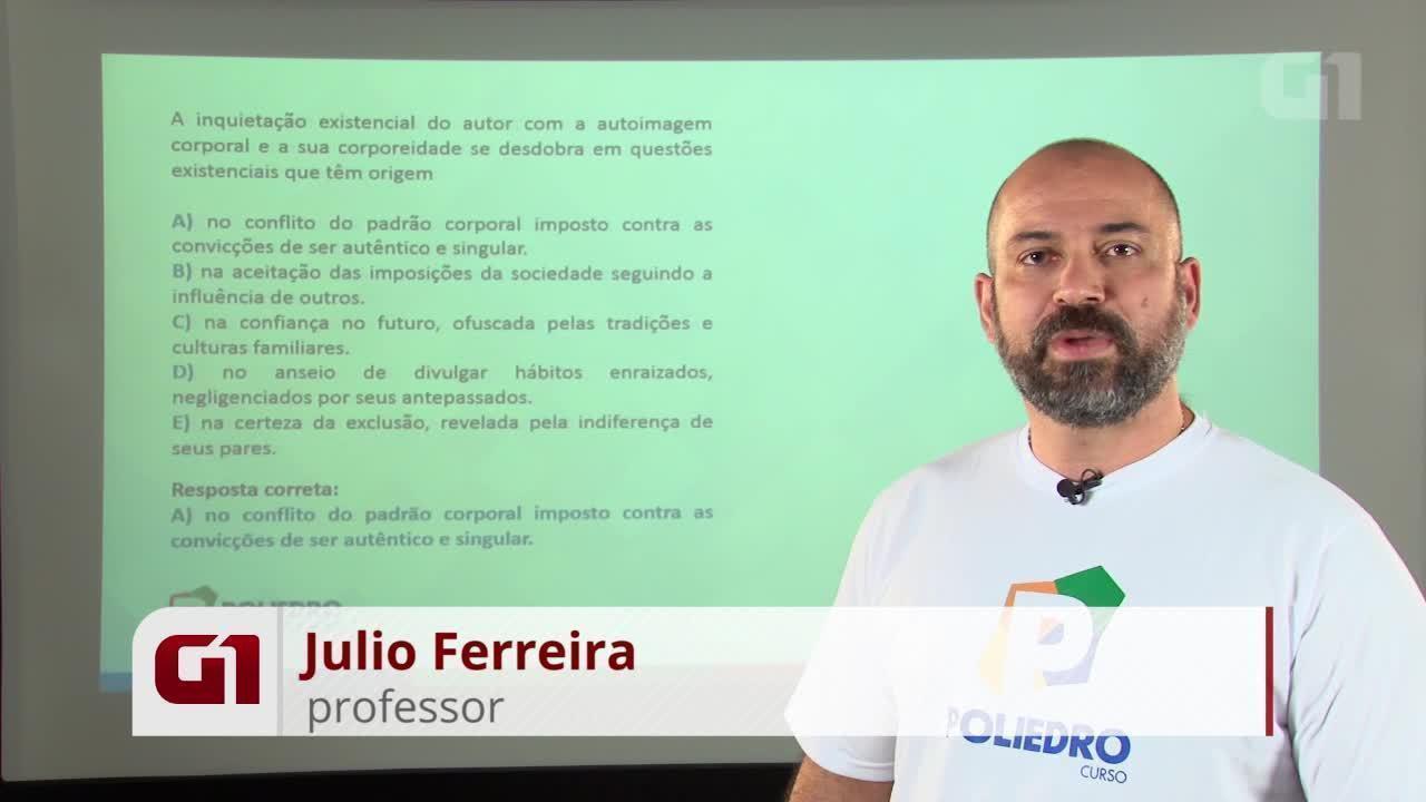 Revisão Enem - Ciências Humanas - Resolução da questão 96 prova rosa 2012