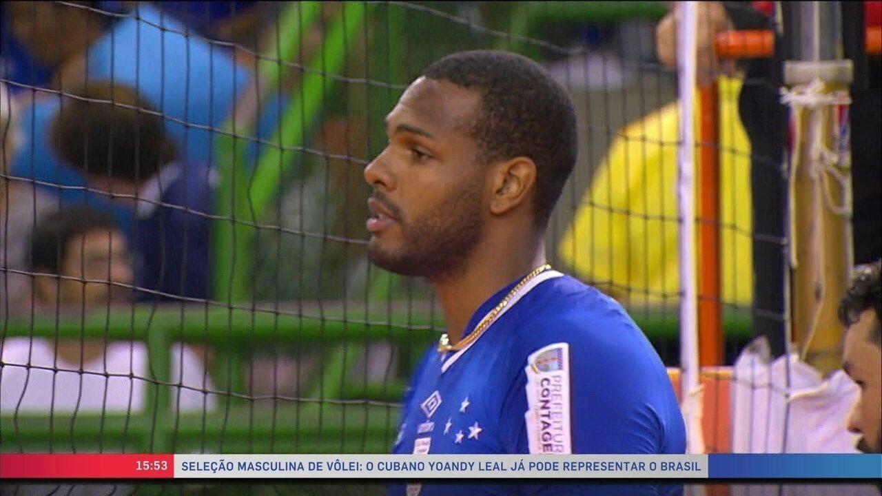 7c08120e00 Leal é liberado para defender a seleção brasileira de vôlei a partir ...