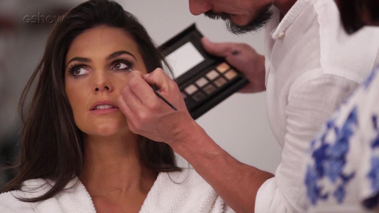 Lavoisier dá dicas de maquiagem com Daniela Sarahyba
