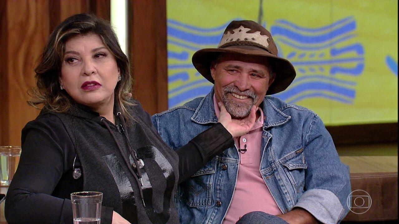 Roberta Miranda faz uma relação entre a solidão do artista e a do caminhoneiro