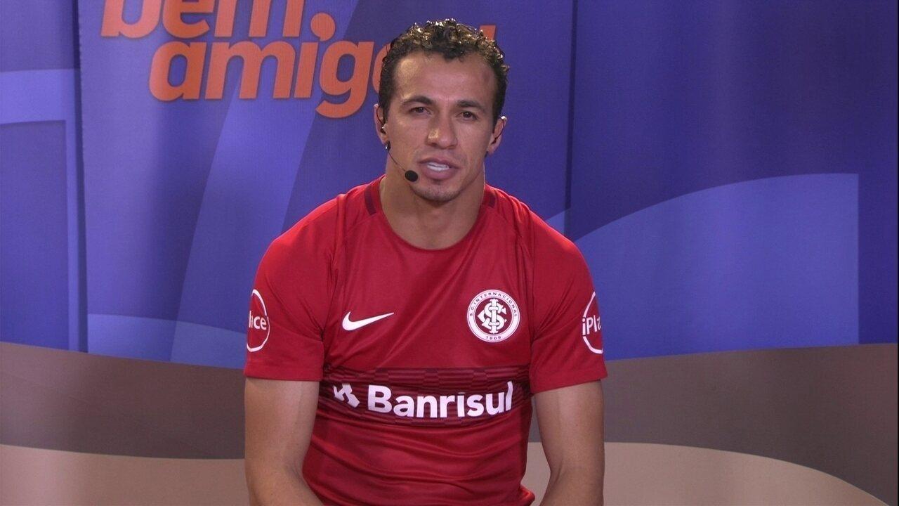 Damião admite decepção com o empate do Inter com o Luverdense