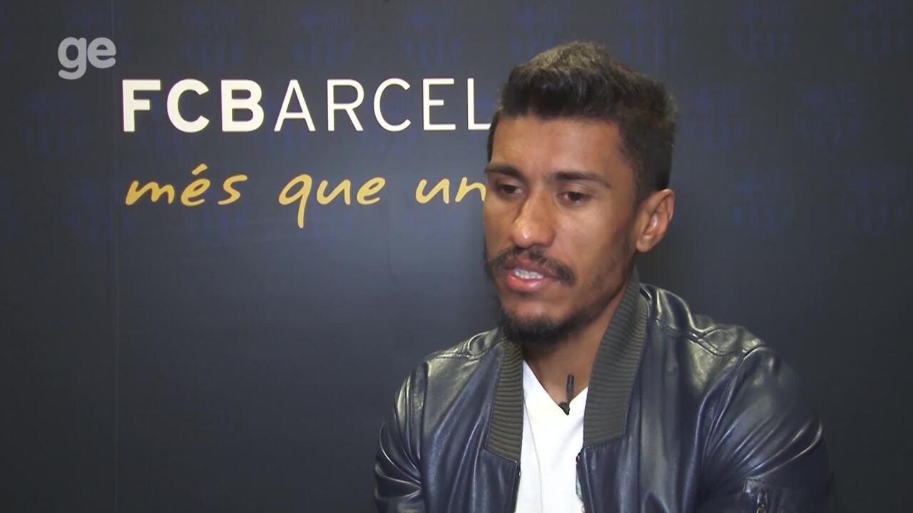 Paulinho revela interesse de Messi e Suárez no Grêmio; vídeo