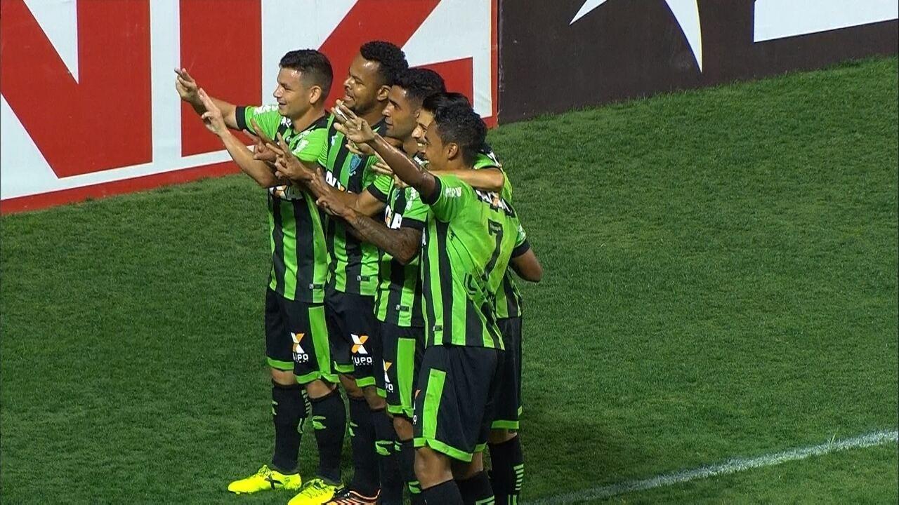Melhores momentos entre América-MG 2x0 ABC, pela Série B do Campeonato Brasileiro