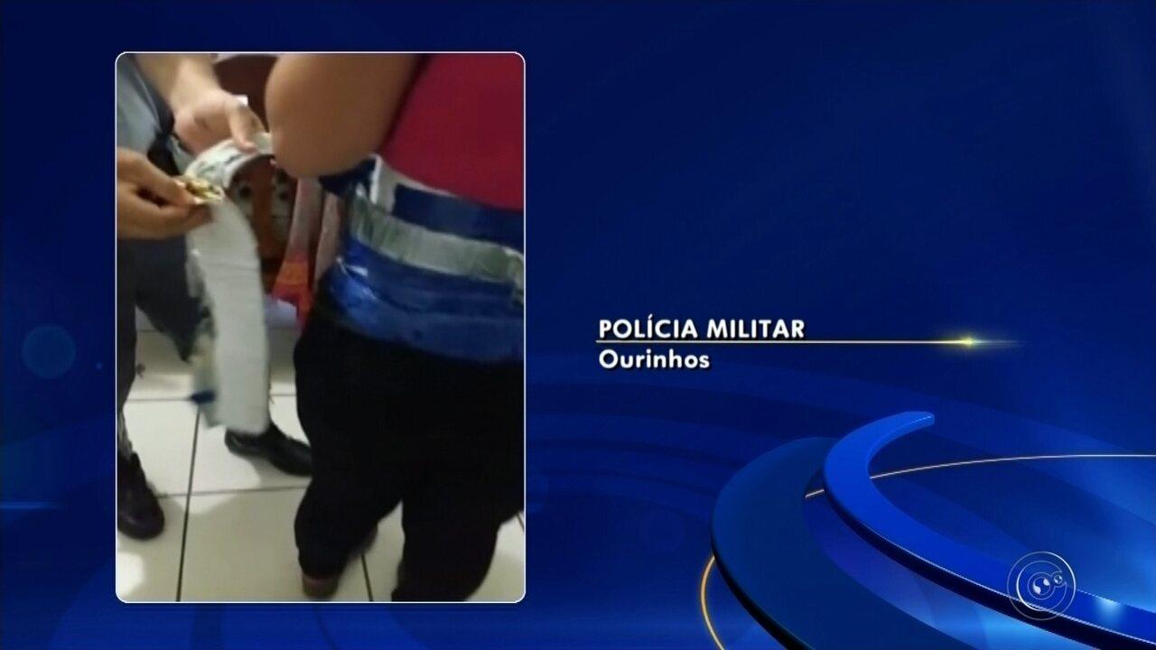 Mulher é flagrada em Ourinhos com 1,5 mil munições escondidas embaixo das roupas