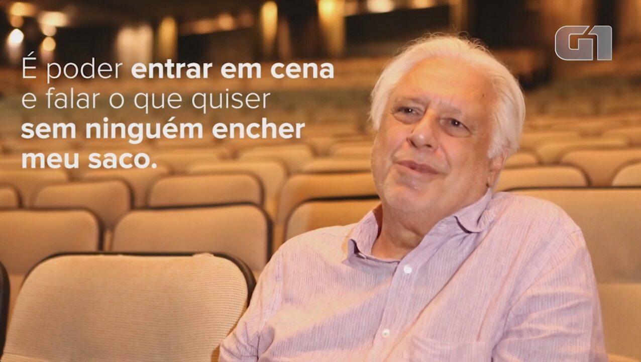 Antônio Fagundes explica porque defende que governo pague por cultura, mas não usa estas verbas