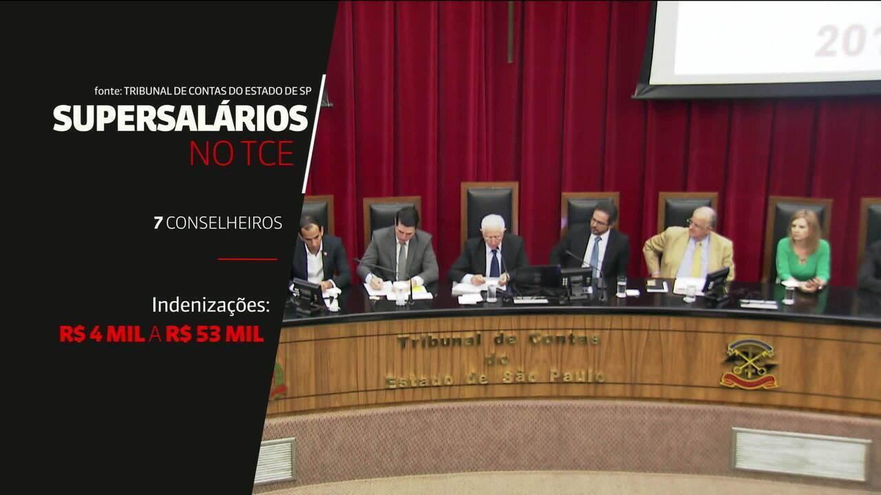 Levantamento da GloboNews revela supersalários no Executivo, no Judiciário e no TCE de SP