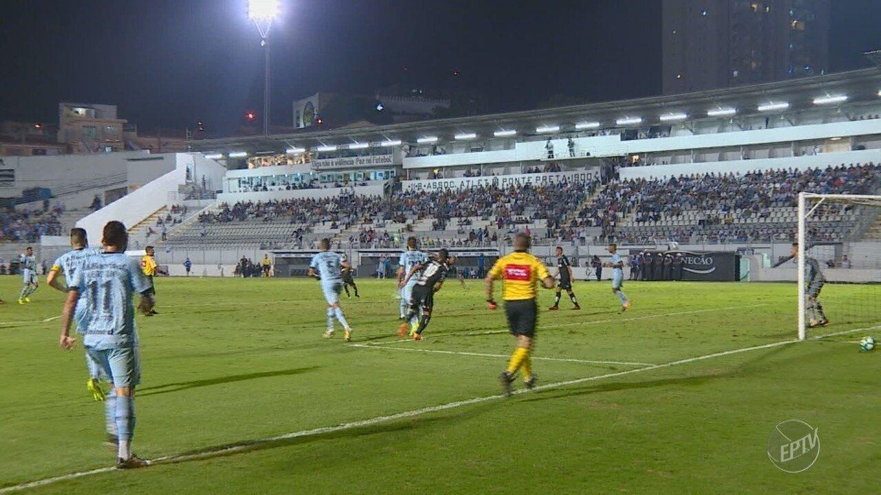 Ponte Preta perde para o time reserva do Grêmio e fica atolada na zona de rebaixamento