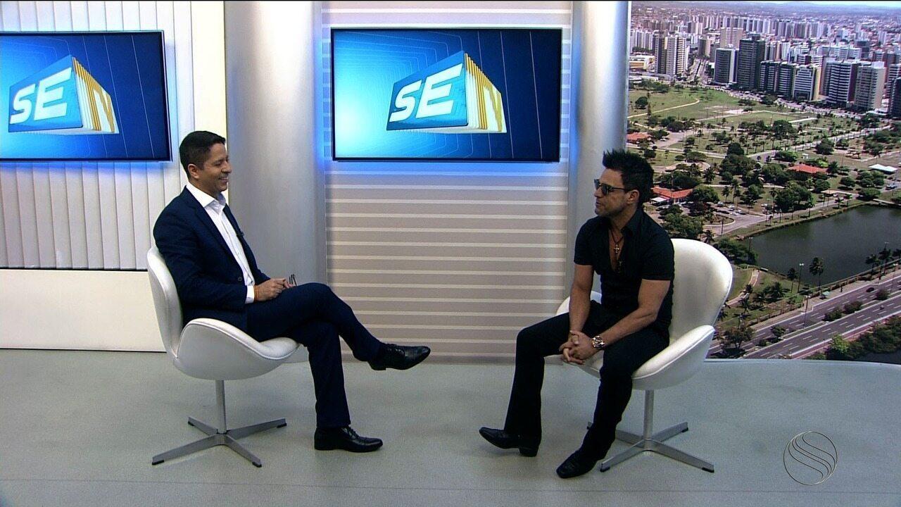 Zezé di Camargo fala sobre carreira e show que fará na Barra dos Coqueiros nesta sexta
