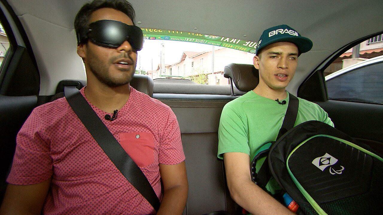 O 'Desafiando' mostra as dificuldades de acessibilidade das pessoas com deficiência visual