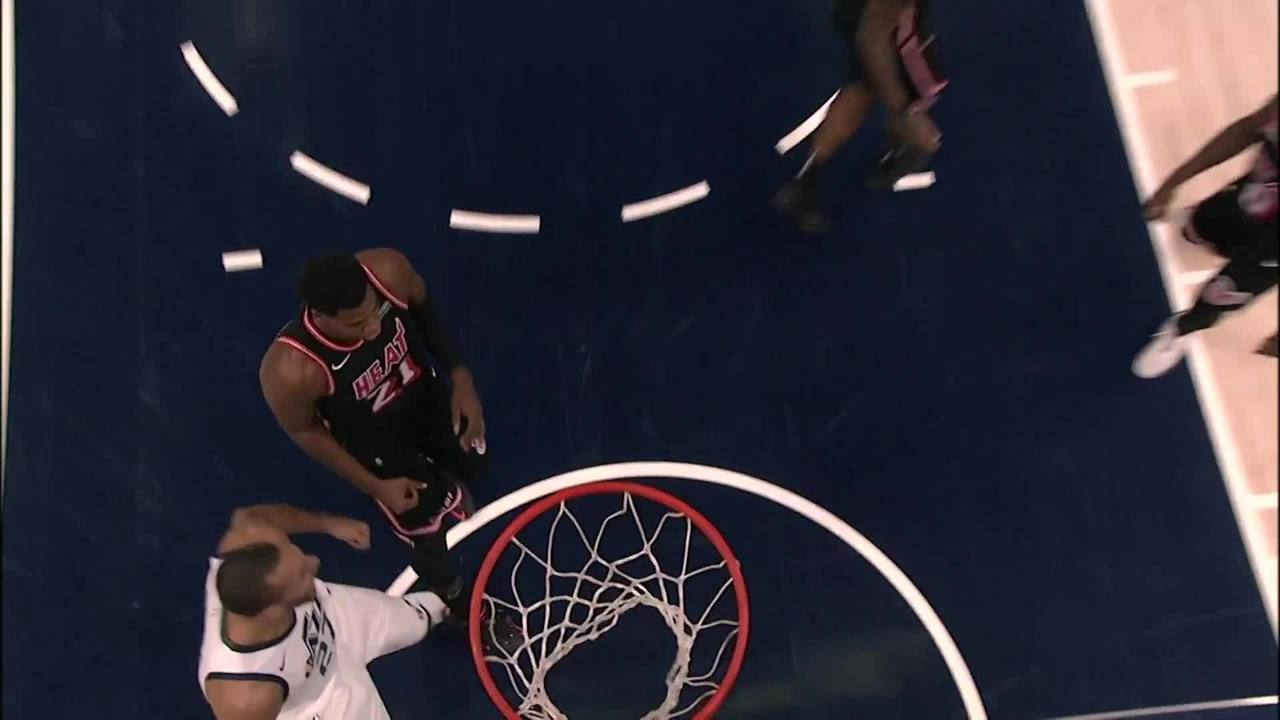 Melhores momentos: Miami Heat 84 x 74 Utah Jazz pela NBA