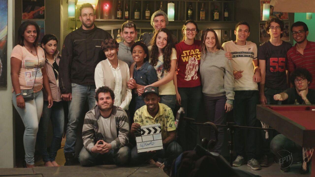 Estudantes de Brotas aproveitam paisagem da cidade para produzir filme